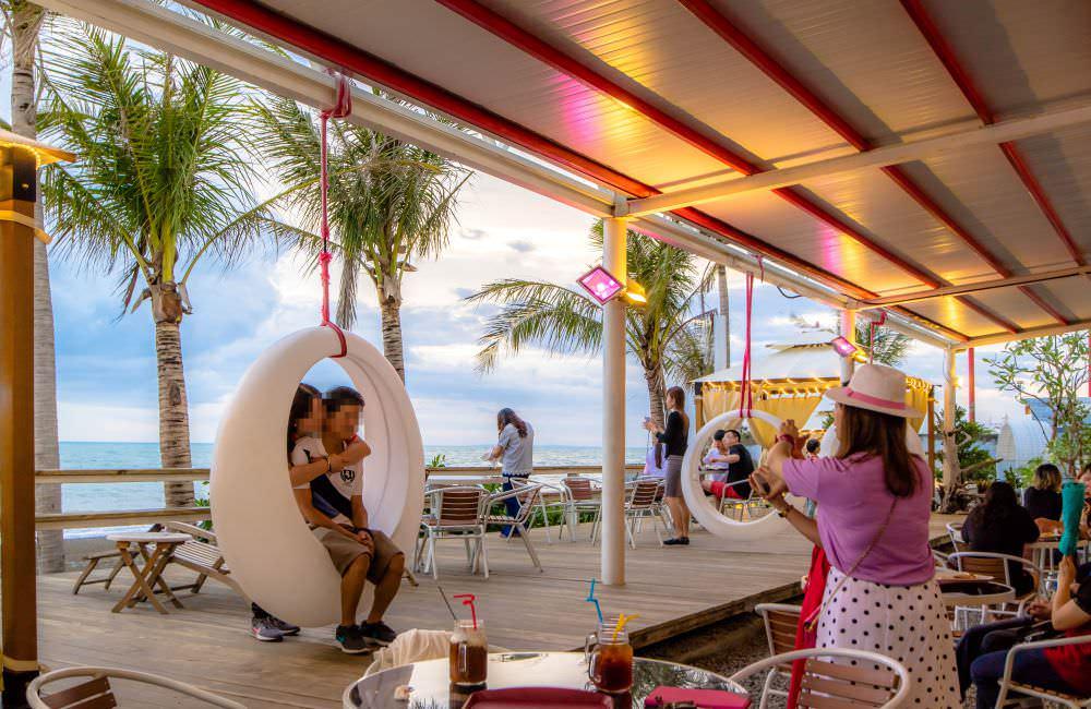 愛琴海岸海景咖啡廳