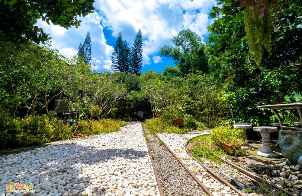 觀音山 綠野山莊土雞城庭園遠景