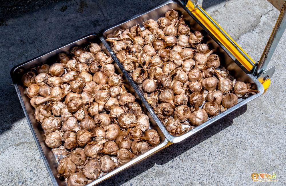 觀音山 綠野山莊土雞城經長時間發酵旳黑蒜頭