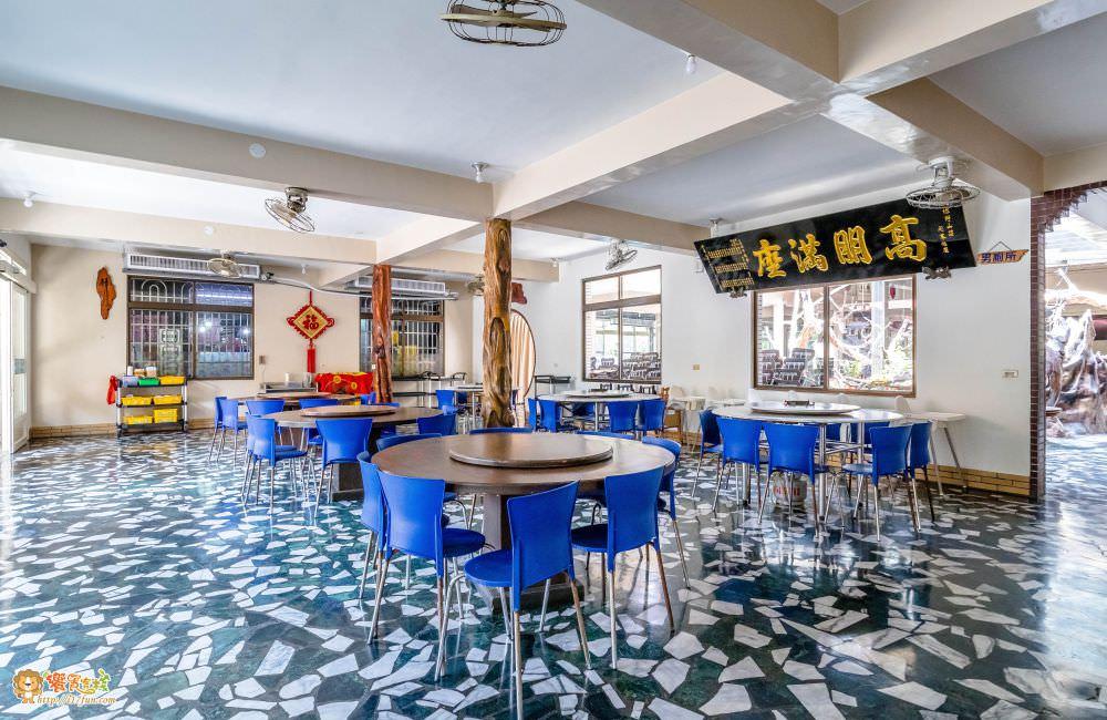 觀音山 綠野山莊土雞城室內用餐區